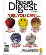 READER'S DIGEST AUG2008-YES,YOU CAN!EAT,LAUGH,LIVE,SAVE - $3.97