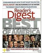 READER'S DIGEST MAY 2008-BEST OF AMERICA;TEST YOUR IQ - $3.97