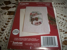Janlynn Christmas Cross Stitch Kit 125-103~Mailbox Greeting Card - $10.00