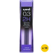 [Back to School] Uni Nano Dia UNI0.3-202ND 0.3mm 2H Refill Leads (Pack o... - $17.69