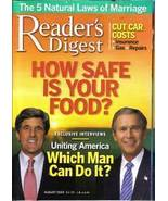 READER'S DIGEST AUG 2004-HOW SAFE IS YOUR FOOD?MARRIAGE - $3.97