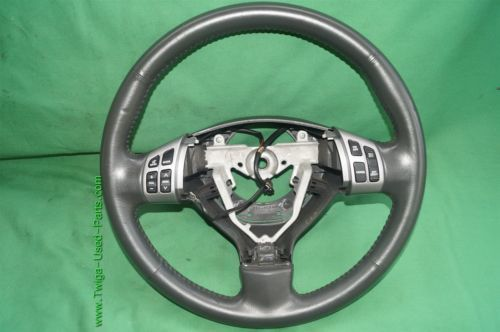 07-12 Suzuki SX4 SX-4 Leather Steering Wheel w/ Multifunction Controls
