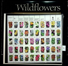 1992 Commemorative Stamp Collection Mint Set USPS 9930 Wildflowers Sealed Stamps - $14.20