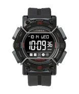 Timex Expedition Digital Face 47mm - Black Screen w/Black Resin Strap - $48.67