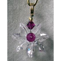 Miniature Clear Crystal Daisy image 3
