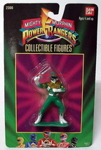 """Mighty Morphin Power Rangers~Bandai~2300~Green~Tommy~3"""" Figure~1993~MIP~ - $14.00"""