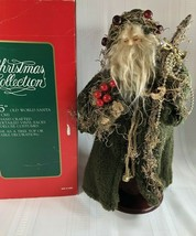 "Old World Santa Christmas Collection 16"" Tall Hand Crafted Table Top Dec... - $15.83"