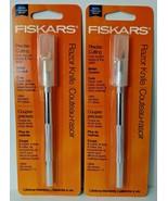 Fiskars 96007097J Precise Cutting Craft Knife 2PKS - $3.71