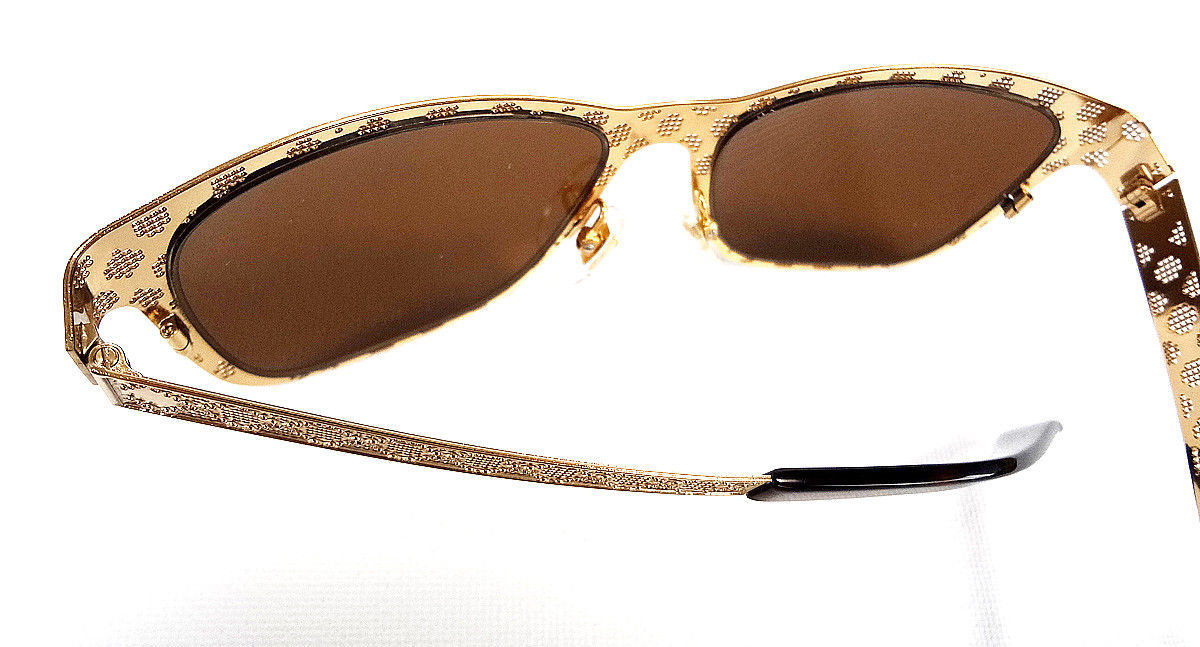 GUCCI Women's Sunglasses GG4267 Metal Gold 54-16-135 MADE IN ITALY - New!