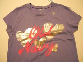 Purple Tee Shirt XL 14 Girls Heart Kids - $9.99