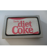 Coca-Cola Diet Coke Taste of Diet Coke Playing Cards 1980s New in Package - $24.75