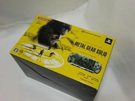 Playstation Portable PSP Metal Gear Solid Peace Walker Premium Package - $185.13