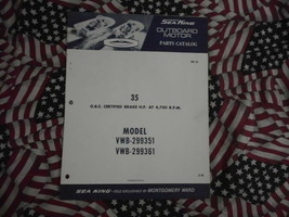 1968 Mar King Rejillas 35 HP Parte Catalog 299351 299361 - $10.86