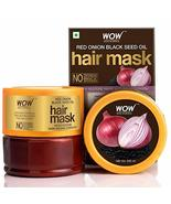 WOW Red Onion Black Seed Hair Mask - With Black Seed Oil, Intense Hydrat... - $24.75