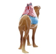 Hagen-Renaker Specialties Ceramic Nativity Figurine Saddled Camel with Blanket image 6