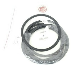 LOT OF 6 NEW A3 PURESERVE SYSTEMS 0-40M0-SFY VITON GASKETS 6'' image 1