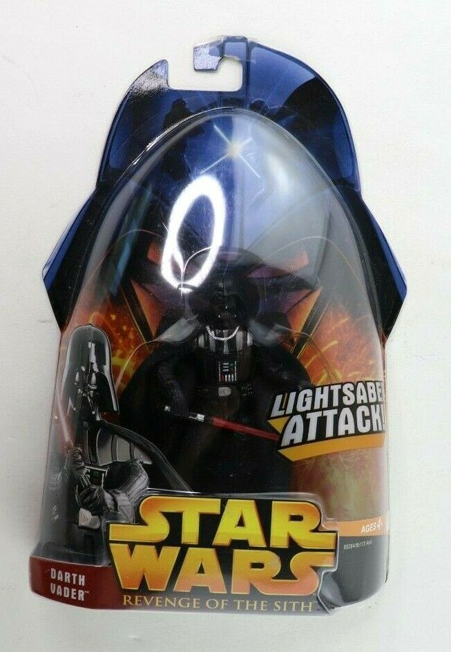 Primary image for Hasbro Star Wars Revenge of the Sith ROTS Darth Vader Action Figure #11 New