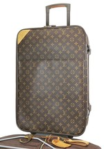 Authentic LOUIS VUITTON Pegase 55 Monogram Canvas Travel Rolling Suitcas... - $1,235.00