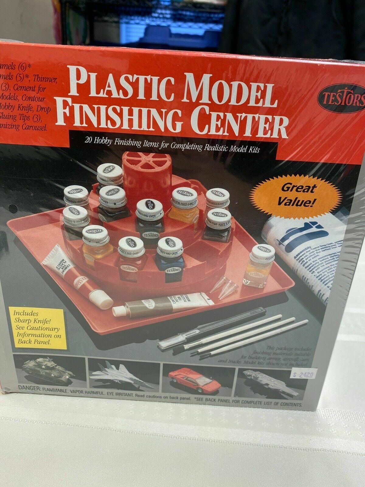 Primary image for Plastic Model Finishing Center #9172