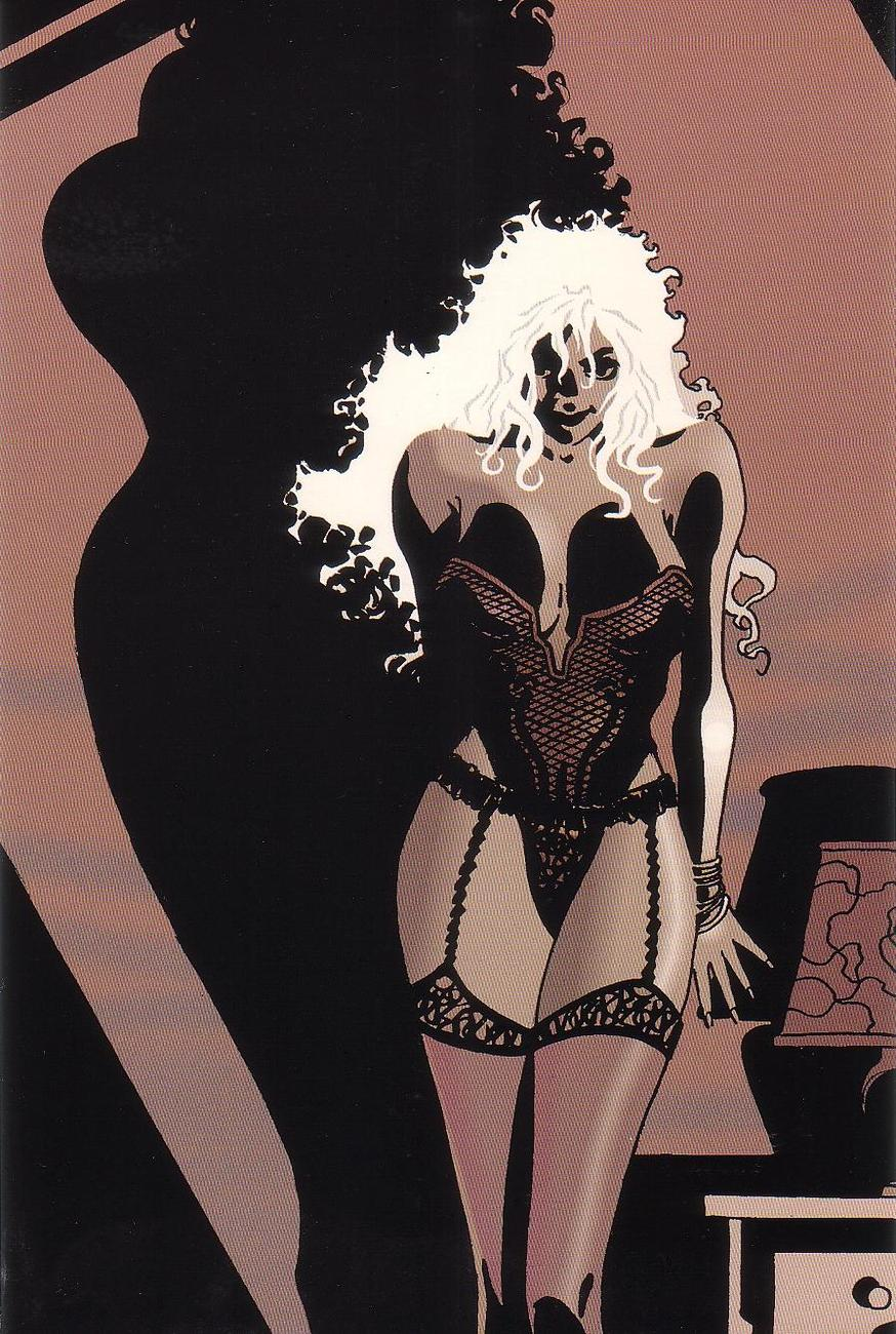 Jim Lee Tim Sale Rare Promo Sexy Pin-Up Print Deathblow Portfolio - 1993