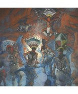 The Gahn Southwest Indian Painting Limited Edition Giclie Print Gretchen... - $150.07