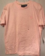 LIZ CLAIBORNE LIZSPORT - MEDIUM -Pink- SHORT SLEEVE -  COTTON STRETCH  T... - $12.59