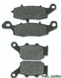 Suzuki Disc Brake Pads XF650 Freewind 1997-1998 Front & Rear (2sets)