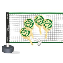 Recreational Pickle-Ball Pack Wooden Pickleball Paddles Outdoor Games Fu... - $114.69