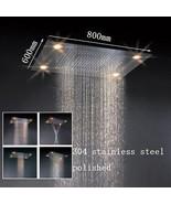 "31"" Large Rain LED Shower Head Double Waterfall Shower by Cascada Showers - $1,663.17"