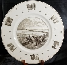 Vintage WEDGWOOD England Texas Plate On The Trail Neiman Marcus - $140.20