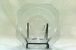 "Federal Glass 1939 Madrid Clear Cereal Bowl 6 7/8"" - $11.69"