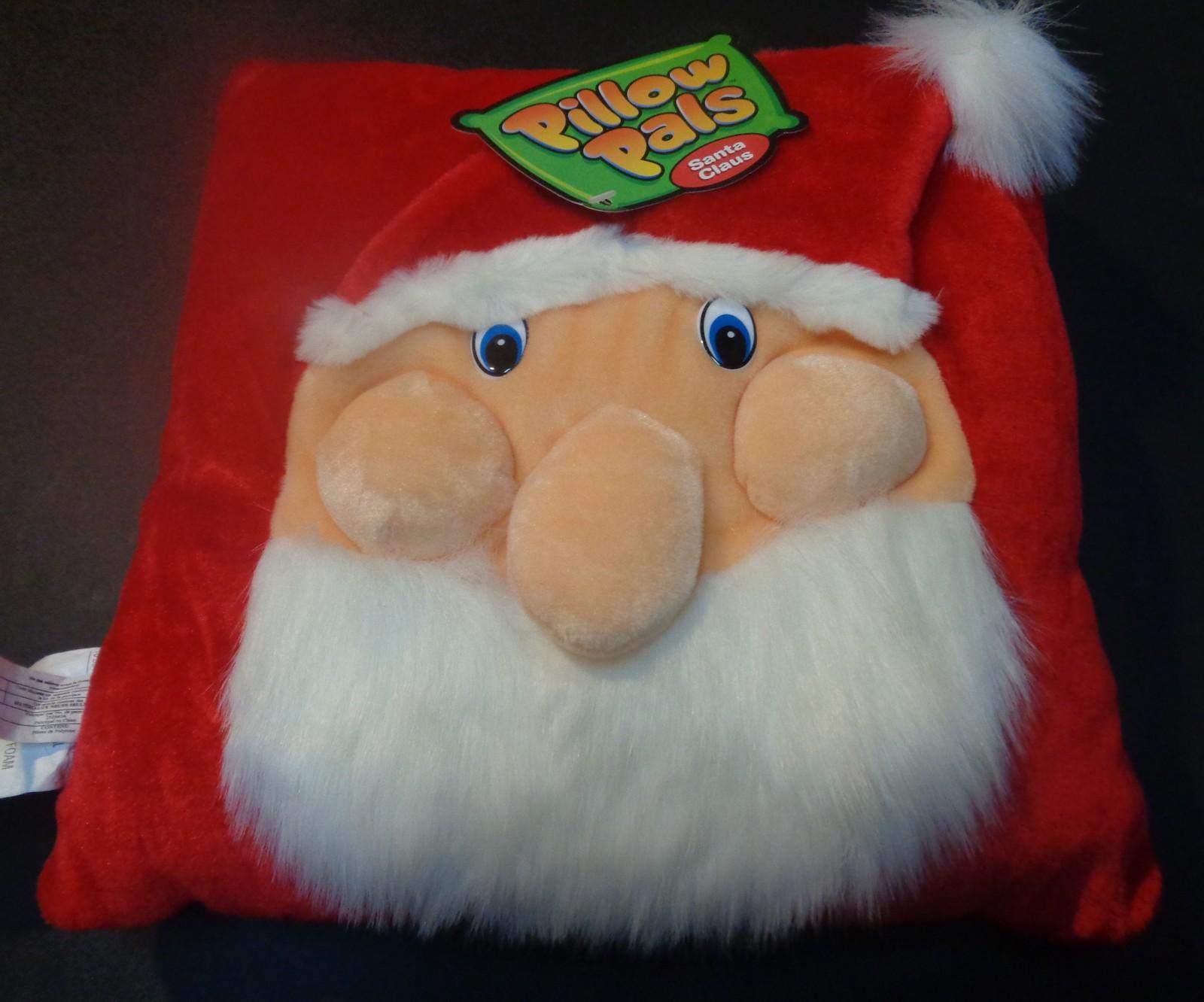 """Pillow Pals Santa Holiday 12"""" x 12"""""""