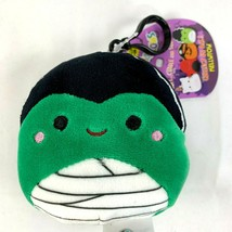 "Squishmallows MYRTLE Bride of Frankenstein Mini 3.5"" Clip On Keychain - $12.39"