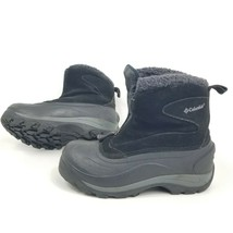 Columbia Womens 6 Winter Boots Black Cascadian Snowchill Thermolite Waterproof - $22.29