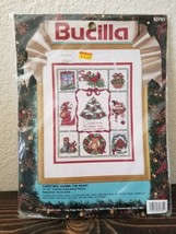 Bucilla Christmas Warms the Heart  12X15 counted cross stitch kit #82761 - $14.99