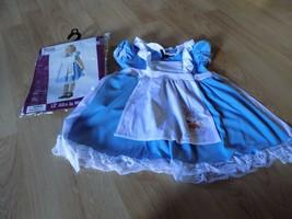 Toddler Size Large 4-6 California Costume Alice in Wonderland Dress & Headband - $32.00