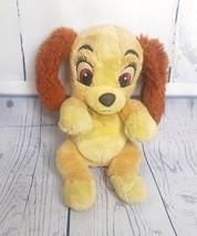 "Disney Baby Lady & The Tramp Plush Stuffed Toy Doll 10"" Puppy Dog - $12.38"