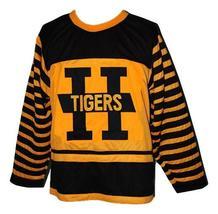 Custom number hamilton tigers retro hockey jersey yellow   1 thumb200