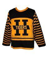 Custom # Hamilton Tigers Retro Hockey Jersey New Any Size - $54.99+