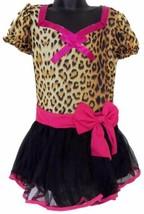 Leg Avenue Girls Leopard Dress Up Halloween Costume Leg Warmers Headband - $5.75