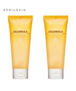 2pcs Aprilskin April Skin Real Calendula Peel Off Pack Mask Korean Cosme... - $29.99