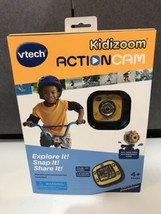 NEW Vtech Kidizoom Action Cam Waterproof Camera for Kids+ Case, Mounts 8... - $39.55