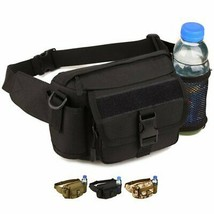 WOTOW Multi Functional Waist Pack, Military Single Shoulder Hip Belt Bag - $22.39