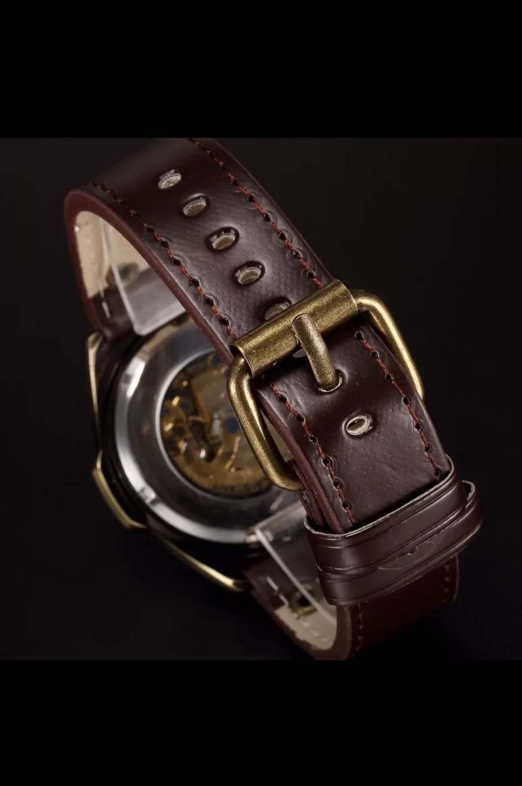Luxury Vintage Retro Automatic Mechanical Watch- Automatics Self-Wind- Antique w image 5