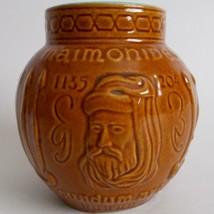 Schering Maimonides Vintage Ceramic Mortar RX Jar - $12.86