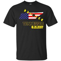 Total Solar Eclipse Across Tennessee USA T-shirt - ₨1,622.97 INR+