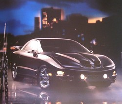 2001 Pontiac Firebird, Trans Am Prestige Brochure, Original GM 01 - $10.67