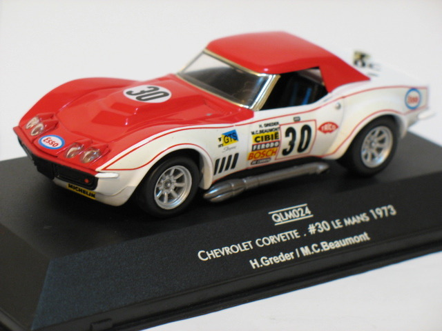 Chevrolet Corvette Le Mans #30 1973 1/43 Die Cast Model Car (Rare)