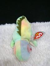Ty Beanie Animal 1997 Iggy the Iguana No Tongue, Multi-Colored Plush New w/ Tags - $5.93