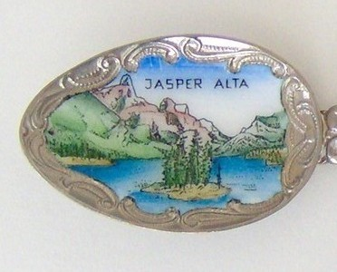 Souvenir Spoon - Canada - Jasper, Alberta